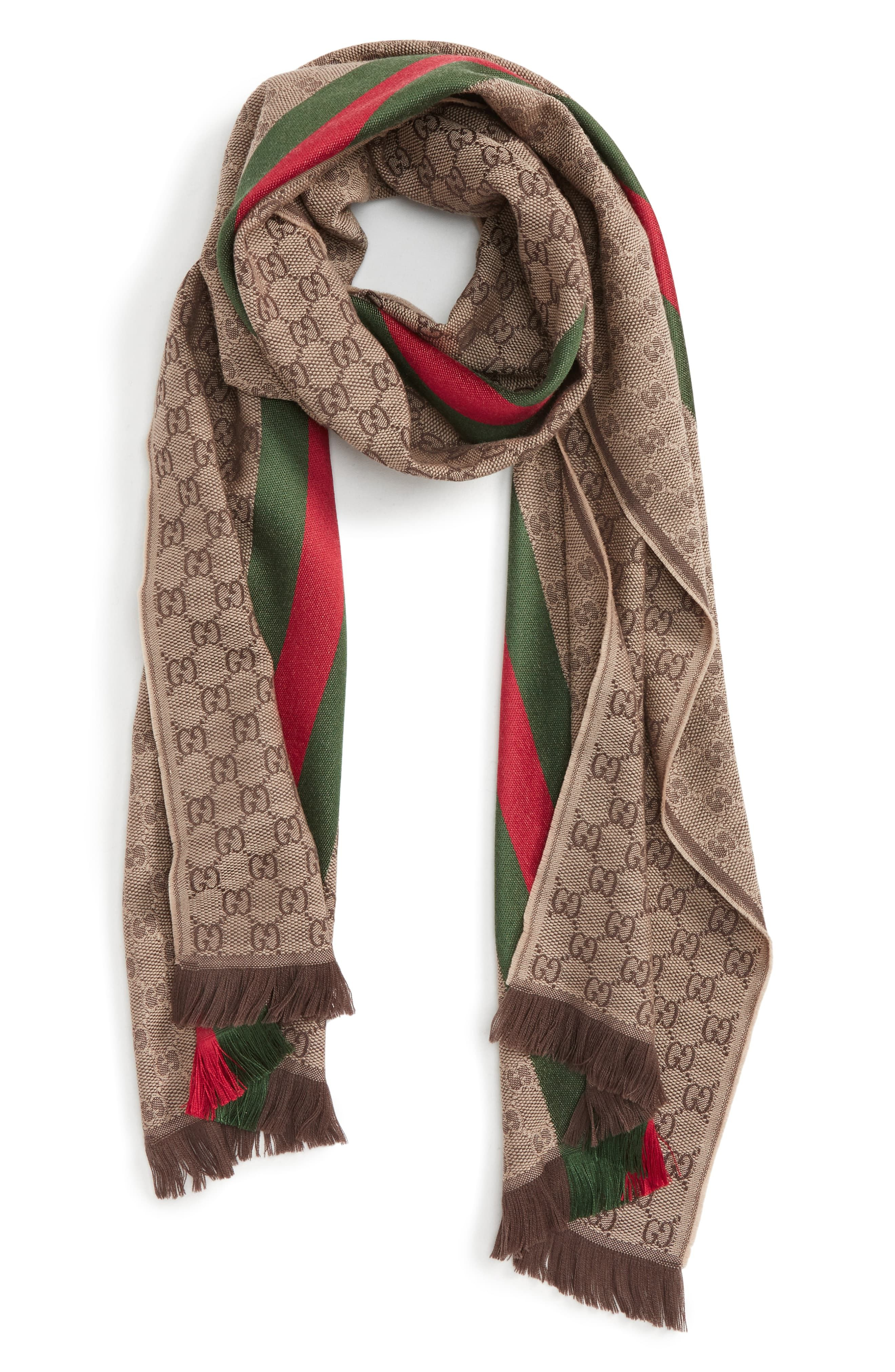Man/'s Fashion Winter Silk Double Print Scarf Winter Warm Solid Scarves