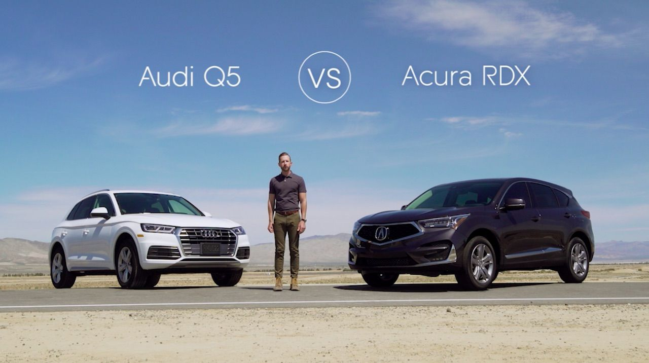 2018 Audi Q5 Suv Vs 2019 Acura Rdx Acura Acura Rdx Audi Q5 Acura