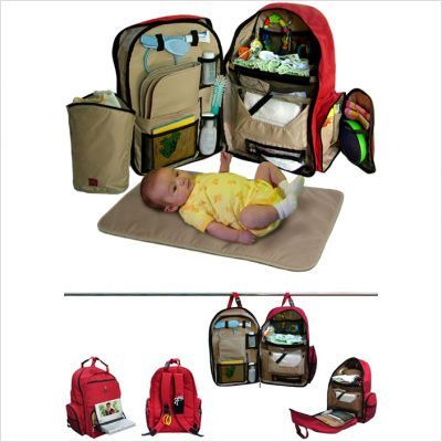 Okkatots Travel Baby Depot Diaper Backpack Gender Neutral And Good For Mom Or Dad To Carry Around People Wont Even Know Its A Bag