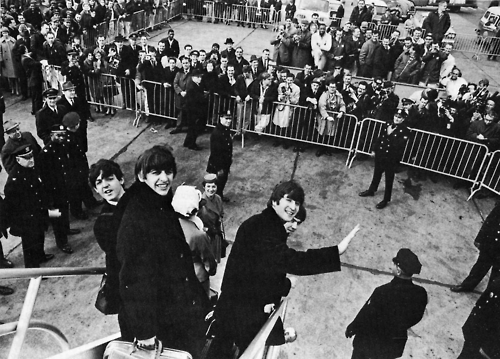 The Beatles Arrive in New York, February 7, 1964 (By Harry Benson)