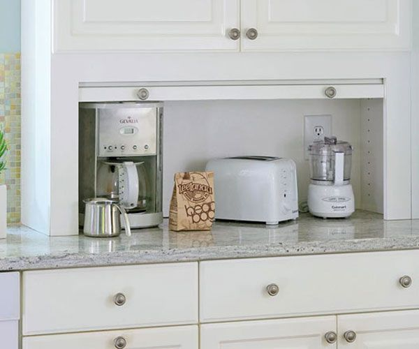 i really could use a kitchen appliance garage  or two    revitalizeandredesign   i really could use a kitchen appliance garage  or two      rh   pinterest com