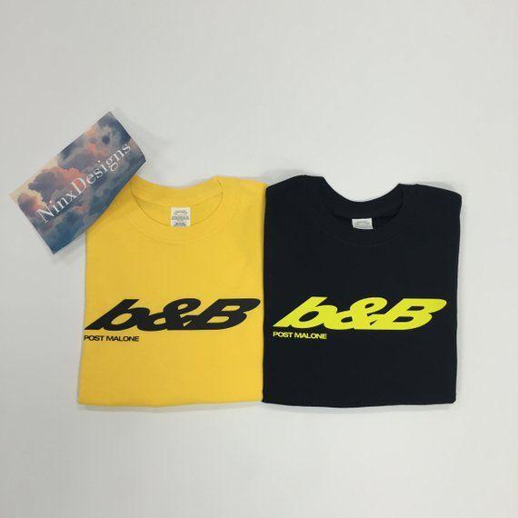 b&b shirt | Inspired fan merch | post malone | stoney shirt