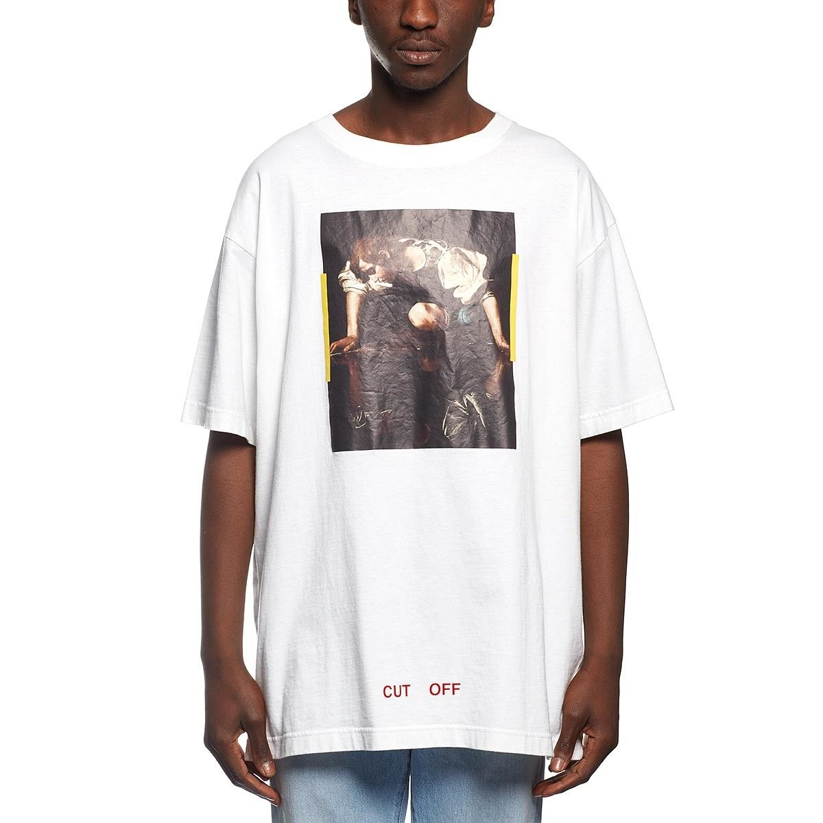 Narciso t-shirt from the F/W2016-17 Off-White c/o Virgil Abloh collection in white