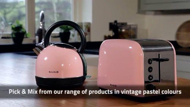 عرض جديد على غلاية وتوستر بريفيل البريطانية الجميلة فقط مجموعتين متوفرة للتسليم الفوري مكونة من غلاية محمصة Pick And Mix Colours Kitchen Appliances
