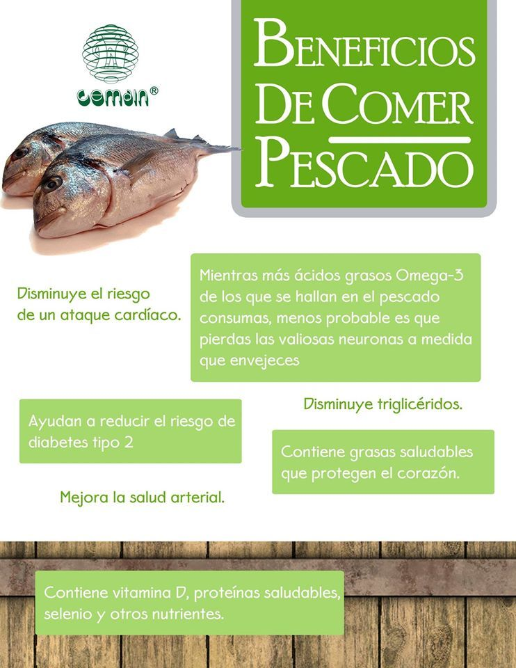 Beneficios de comer pescado | Información de Salud | Pinterest ...