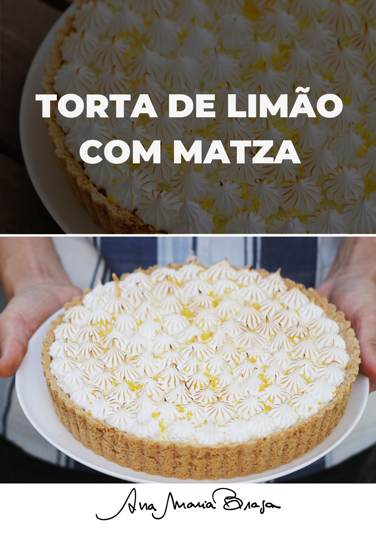 Torta De Limao Com Matza Da Juliana Feher Ideias Receitas De