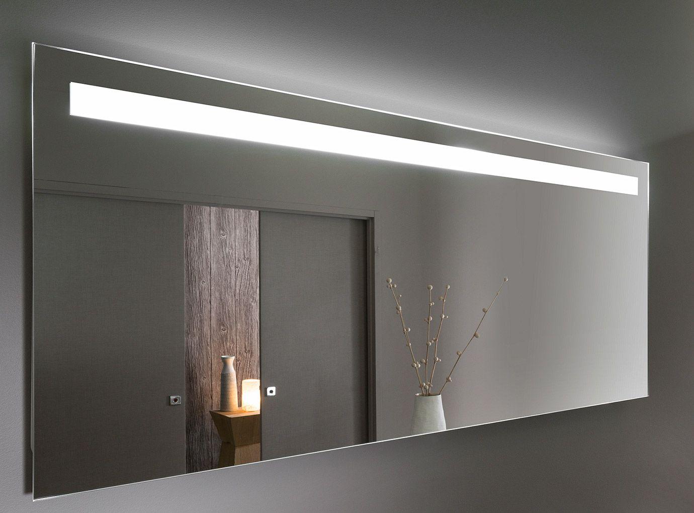 Miroir Eclairant Salle De Bain delpha - unique - miroir lumineux antibuée (avec images