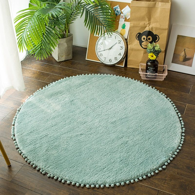Nordic Round Rug Carpets For Living Room Pink Rugs Girls Kids Room Round Rugs For Bedroom Modern Computer C Living Room Carpet Girls Bedroom Rug Rugs On Carpet