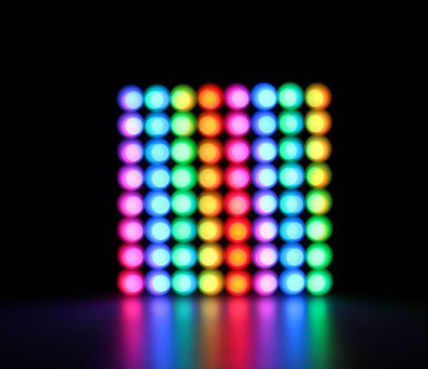 Getting Started With Neopixel Ws2812 Rgb Led Rgb Led Electronics Projects Diy Led