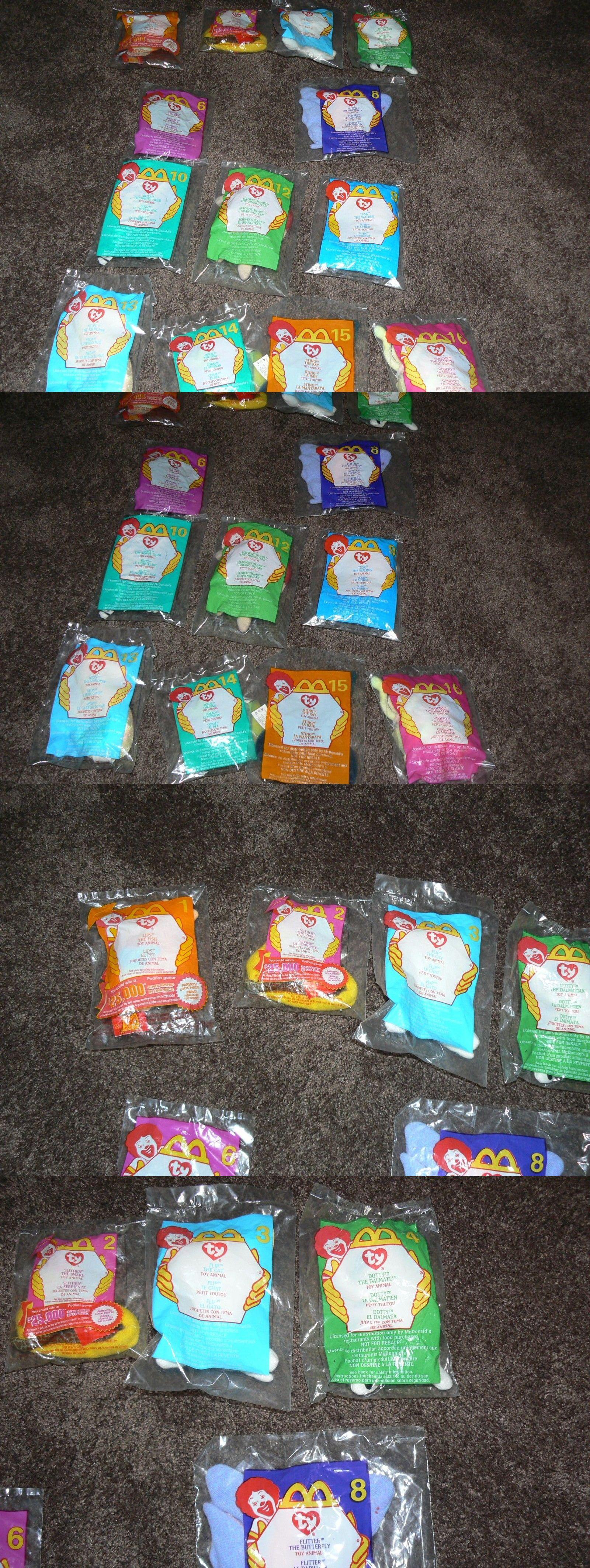 7e38228300a Teenie Beanies 441  Mcdonald S Teenie Beanie Babies In Original  Packaging-13- 2000