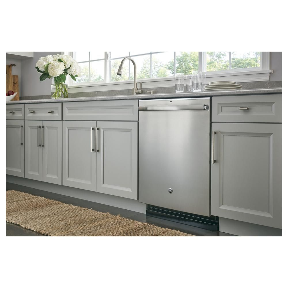 GE Adora Top Control Built-In Tall Tub Dishwasher in Stainless Steel ...