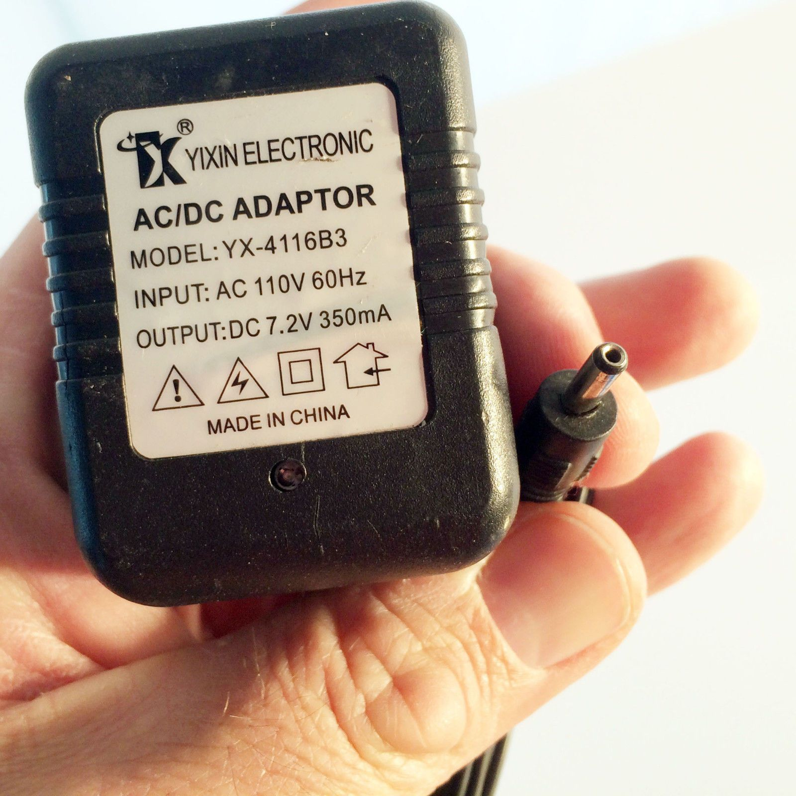 Yx 4116b3 Dc 7 2v 250ma Battery Charger Power Supply
