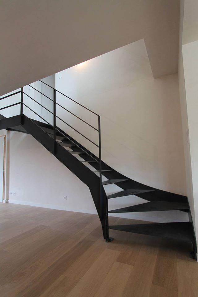 passion bois vous pr sente sa gamme escalier limon escalier en acier avec limons en acier. Black Bedroom Furniture Sets. Home Design Ideas