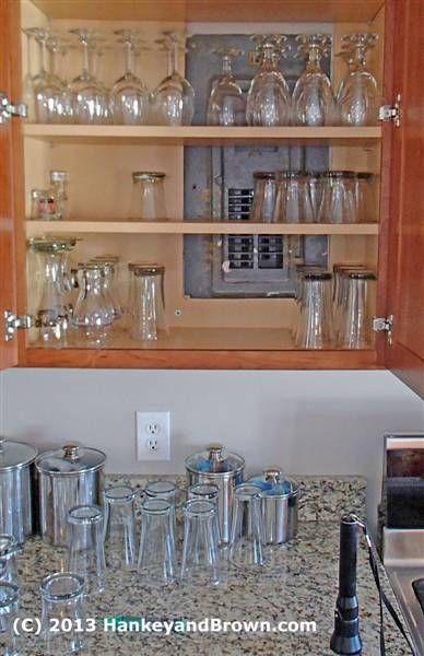 Image result for covering breaker panel in kitchen ...