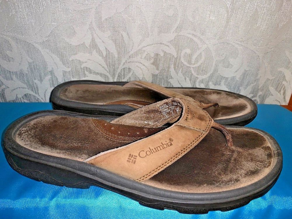 e6dd109f712c BLOW OUT SALE   COLUMBIA Kungo Thong Flip Flops Sandals Mens Shoes Sz 8