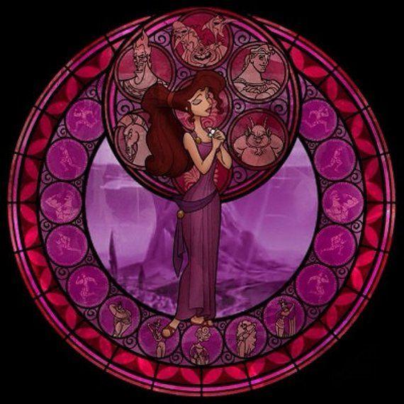 Cross Stitch Pattern for Meg Kingdom Hearts