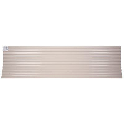 Tuftex Roof Panel Seacoaster 12 Ft X 26 In Corrugated Pvc Roof Panels Corrugated Plastic Pvc Roofing