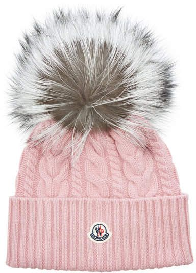 Moncler Hat in Wool and Cashmere with Fox Fur | ♡ Perfect