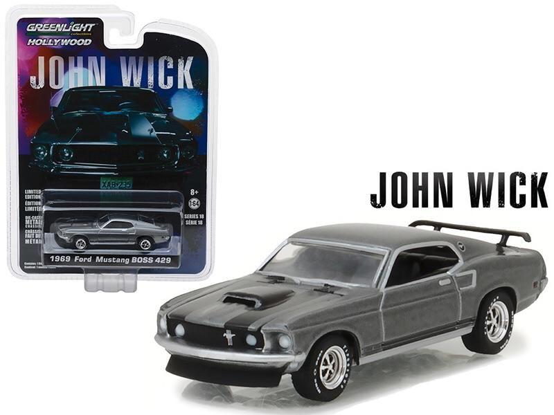 1969 Ford Mustang Boss 429 John Wick Movie Ford Mustang Boss