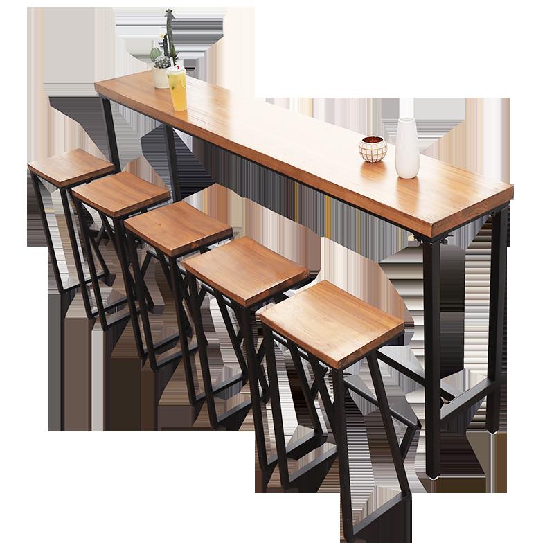 Remarkable American Bar Table Solid Wood Bar Restaurant Bar Cafe High Machost Co Dining Chair Design Ideas Machostcouk
