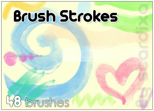 Paint Strokes 1 - Download  Photoshop brush http://www.123freebrushes.com/paint-strokes-1/ , Published in #GrungeSplatter. More Free Grunge & Splatter Brushes, http://www.123freebrushes.com/free-brushes/grunge-splatter/ | #123freebrushes