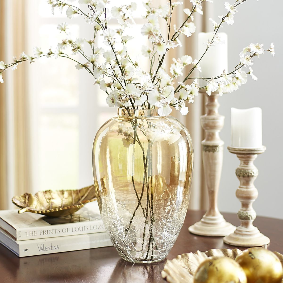Gold luster crackle glass vases pier 1 imports living room gold luster crackle glass vases pier 1 imports reviewsmspy