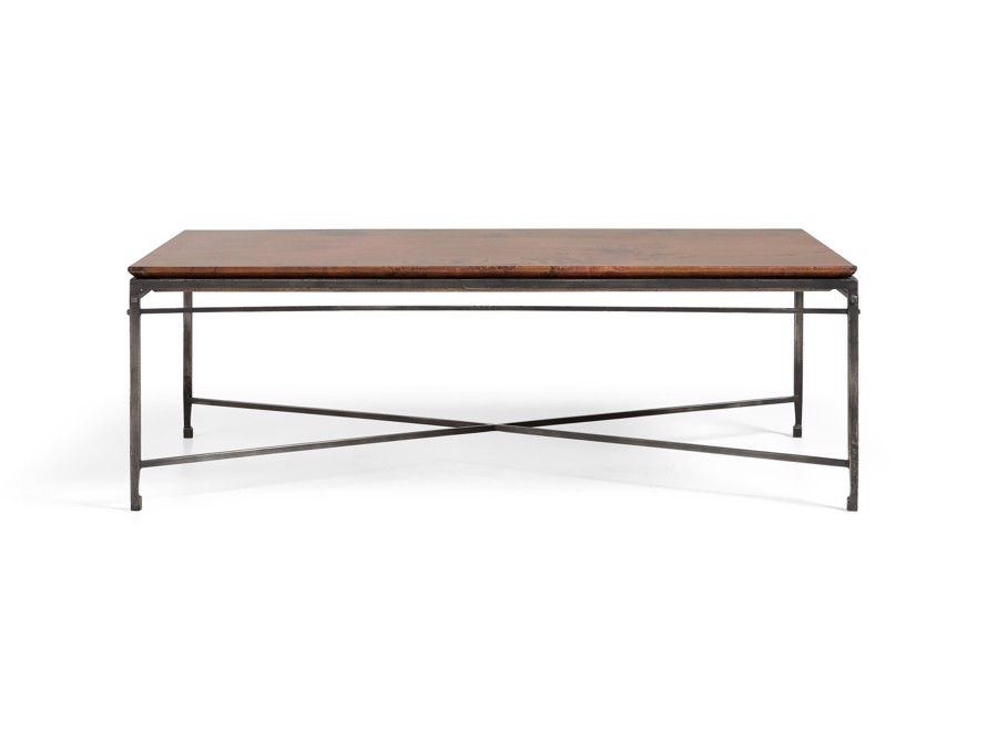 Flores Coffee Table Arhaus Furniture Coffee Table Copper