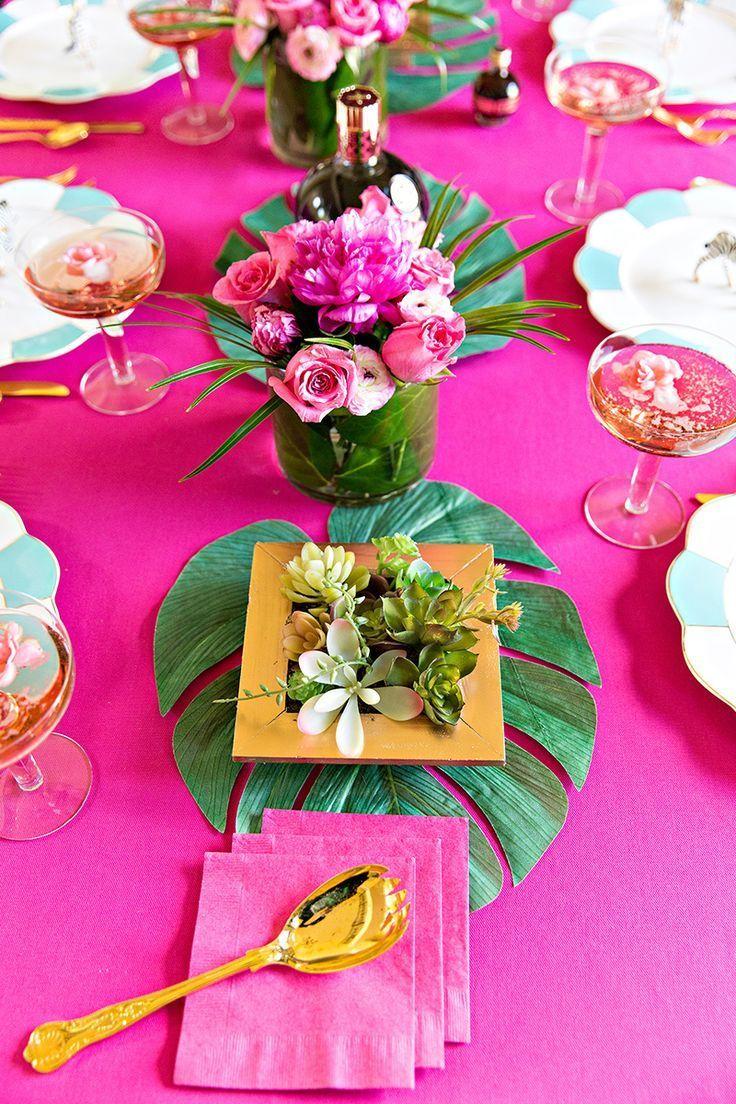 DIY Cocktail Party Tablescape | Party | Pinterest | Mesas ...