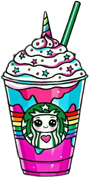 Starbucks Unicornstarbucks Unicorn Rainbow Drawsocute Cute Kawaii Drawings Kawaii Unicorn Cute Drawings