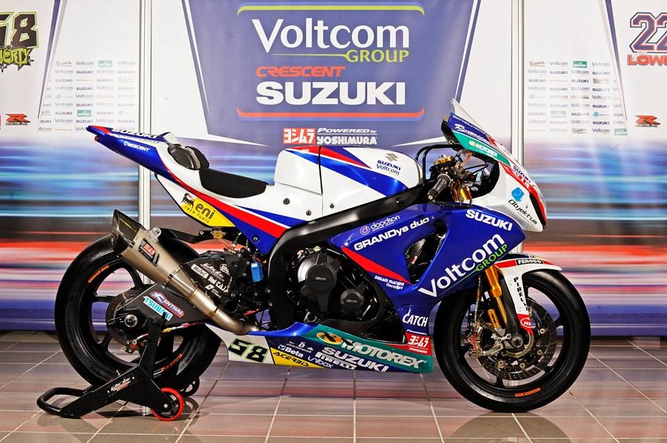 New Crescent Suzuki WSBK  Very nice bike! | vfr | Suzuki