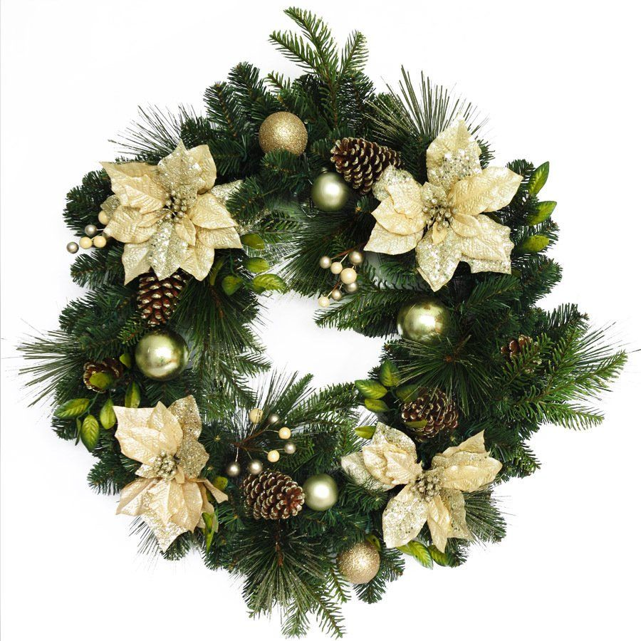 Decoration Ideas A Functional Large Artificial Christmas Wreaths