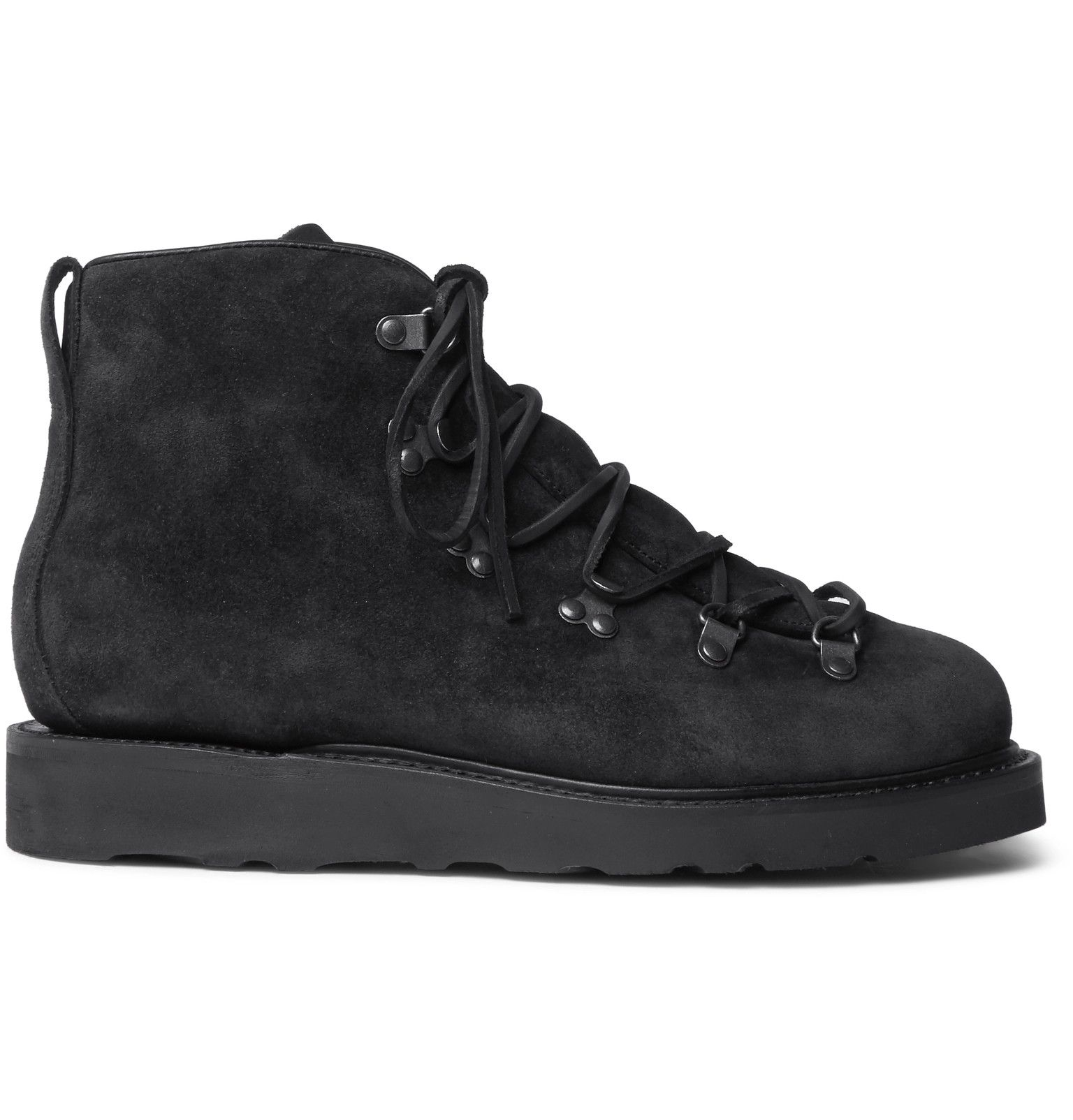 VIBERG - Suede Hiking Boots - $690
