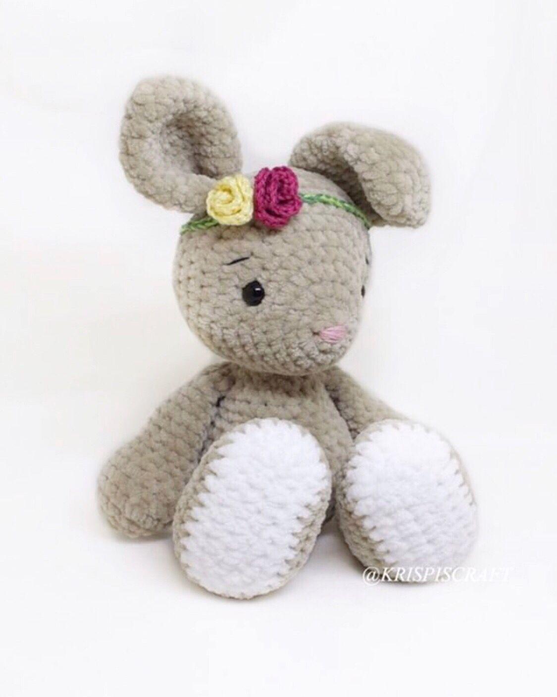 Spielzeug Amigurumi Ballerina Häschen Mit Liebe Gehkelt Plüschtiere & -figuren