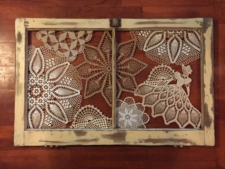 Media cache ec0pinimg 736x 39 b0 8f vintage window frame doilies by lulabu designs the wonderful old find this pin and more on do it yourself solutioingenieria Images