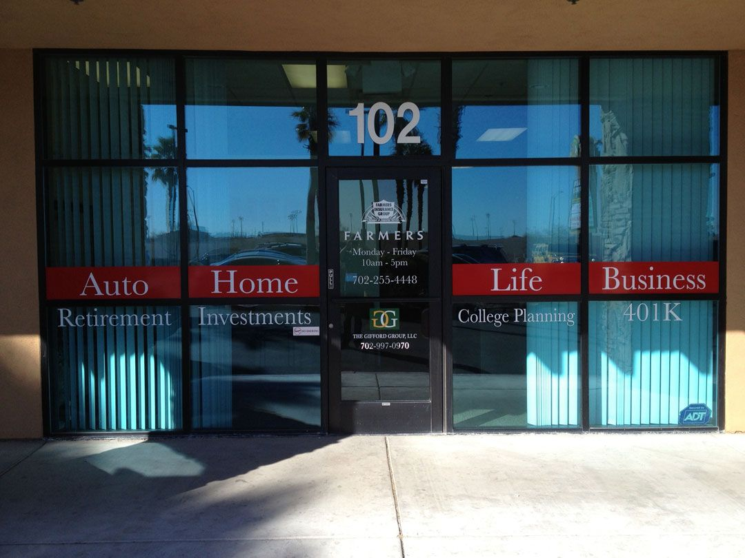 Storefront Window Graphics Store Front Window Graphics Farmers