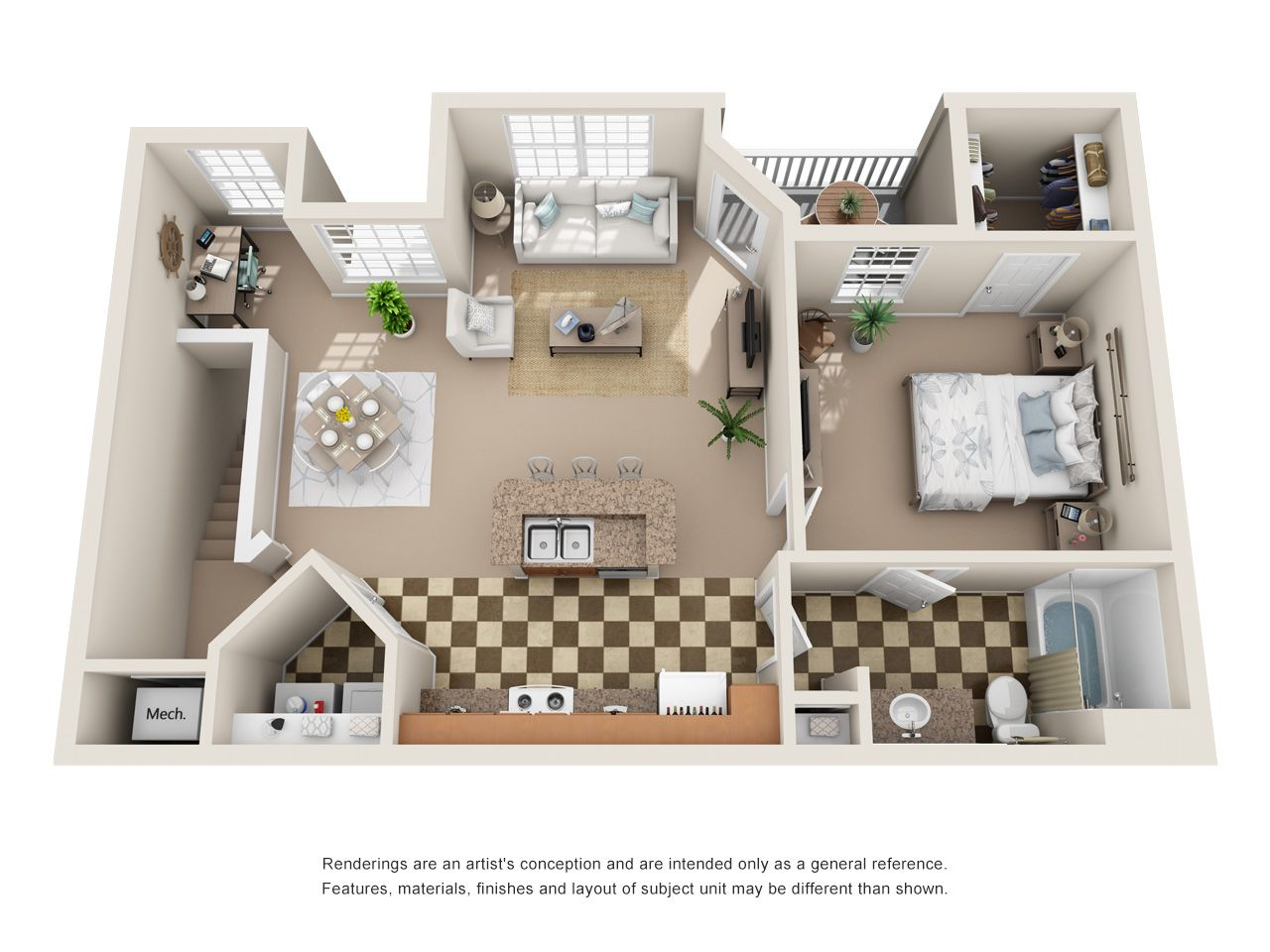 Studio, 1, 2, and 3 Bedroom Apartments in Antioch for Rent