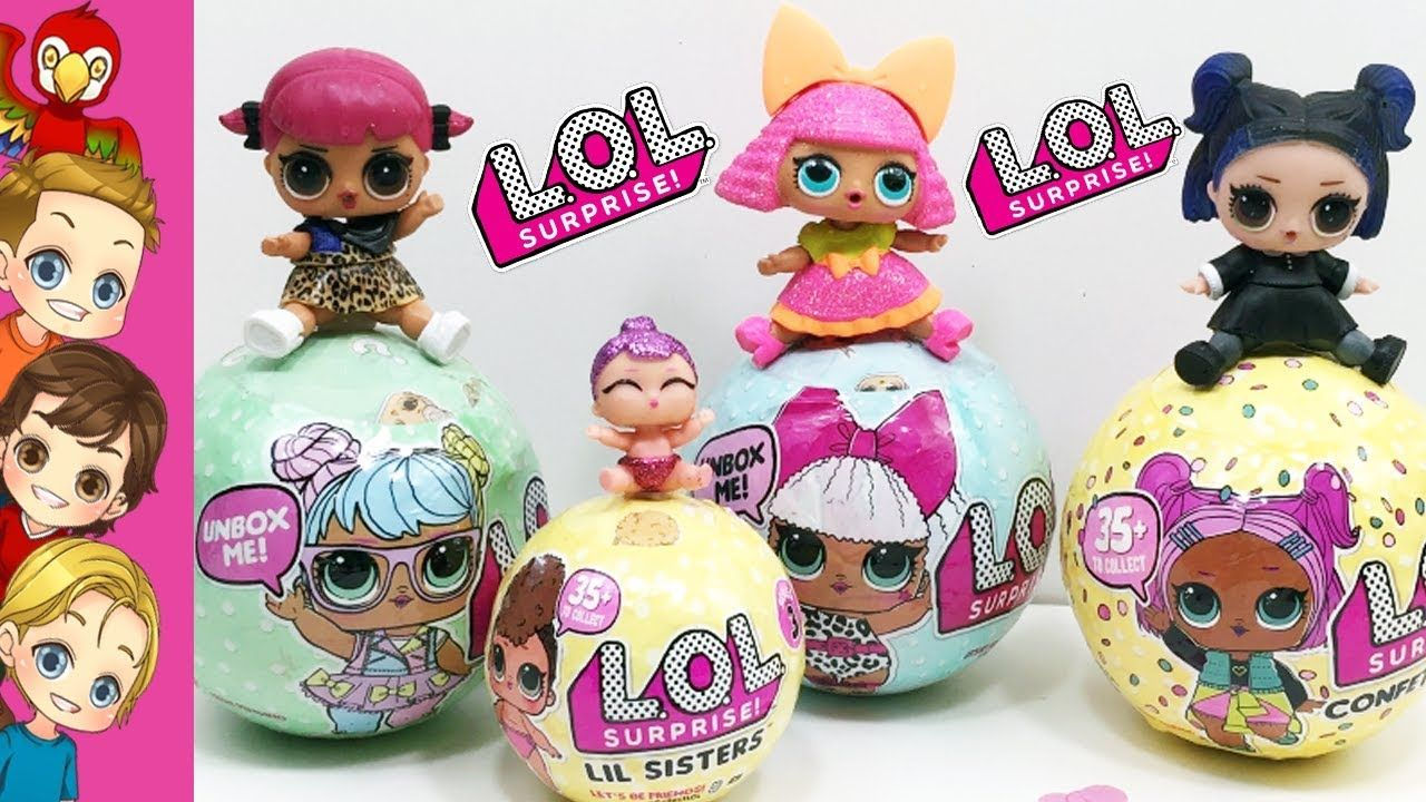 MIDNIGHT doll toy SERIES 2 Bag FOR LOL Surprise LiL Sisters L.O.L