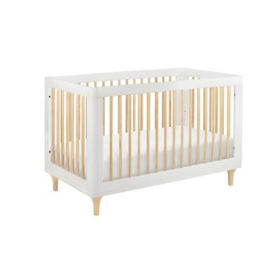 Babyletto Lolly 3 In 1 Convertible Crib In White Natural