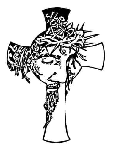 Nazareno Dibujos De Jesus La Cruz De Jesus Cruz De Dios