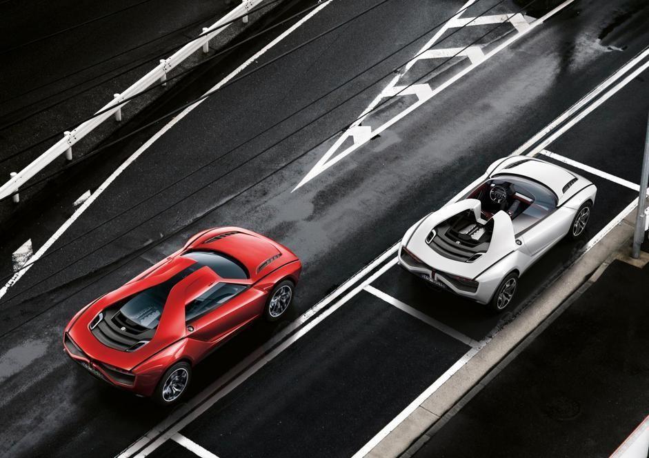 Giugiaro Parcour Crossover suv, Futuristic cars, Concept