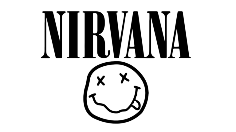 Logo Nirvana Logo De Nirvana Logos De Bandas Como Estampar Remeras
