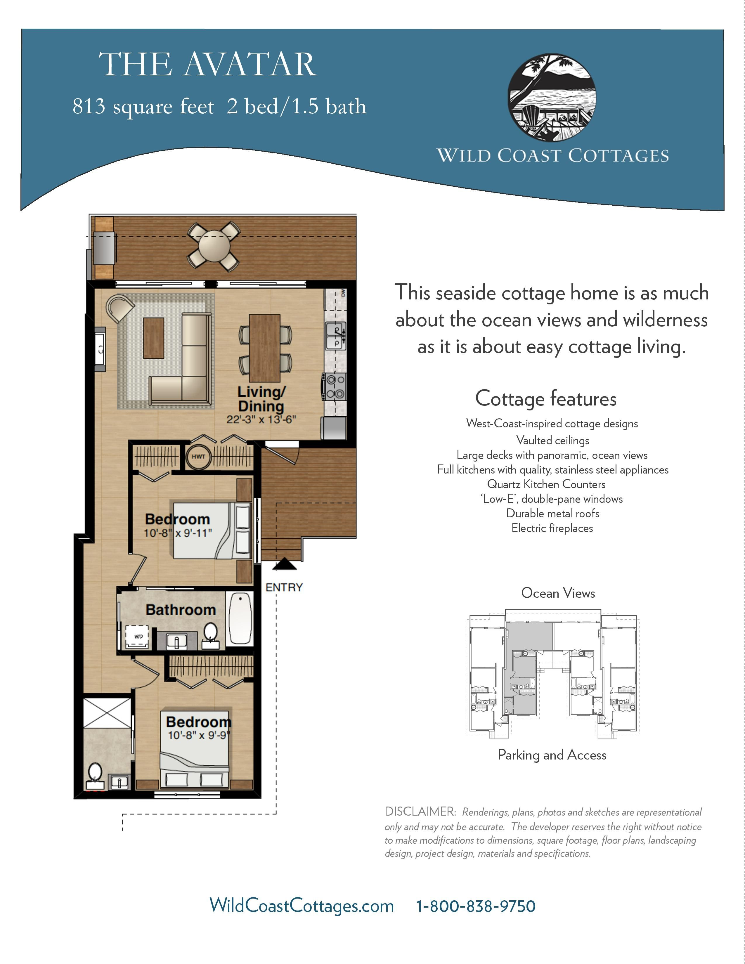 The Avatar Floorplan Cabin Floor Plans Floor Plans Seaside Cottage