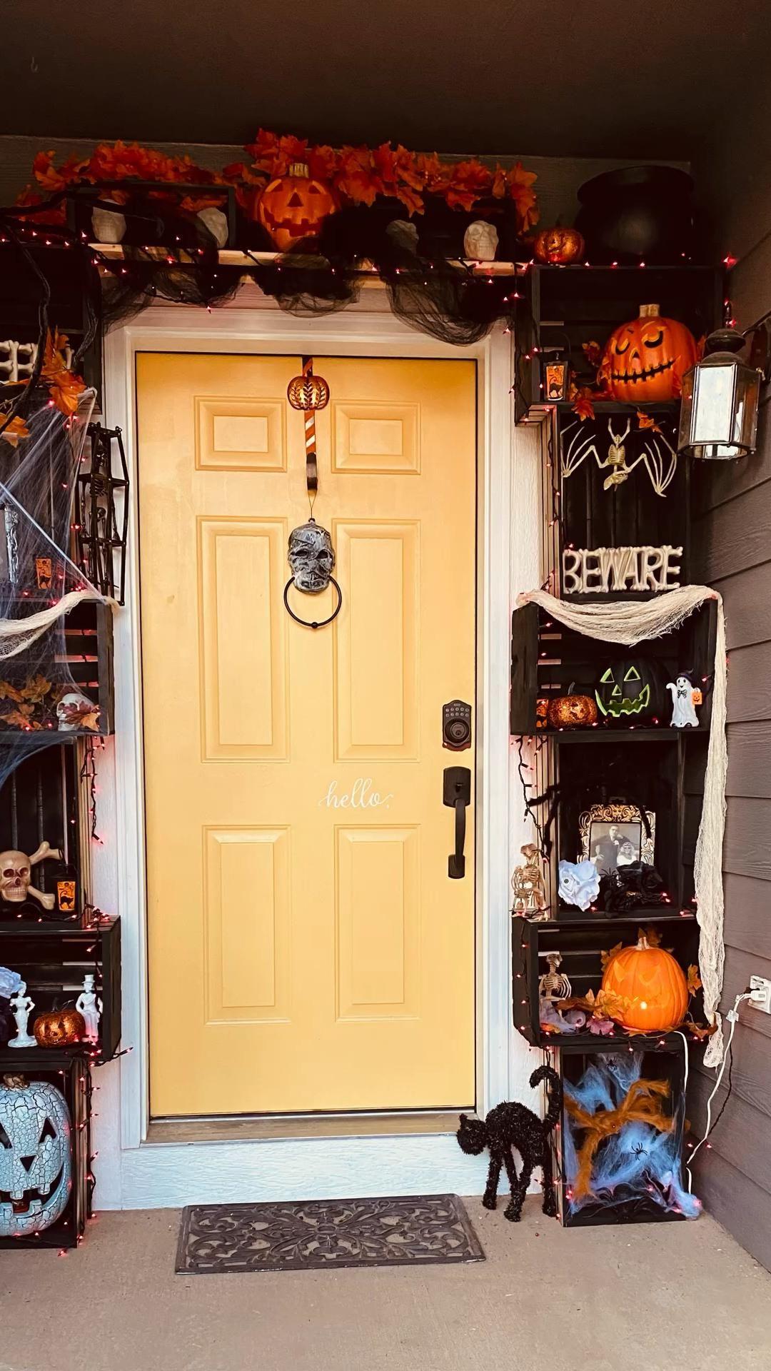 Halloween Doorway Decor
