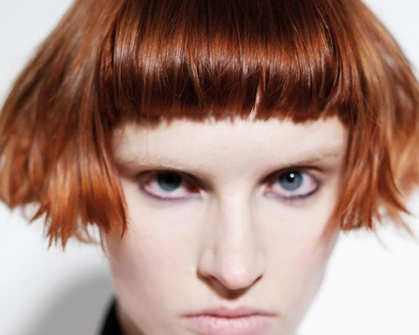 I Want To Do This Haircut On Someone Today Hairs Pinterest - Short hair bob bangs