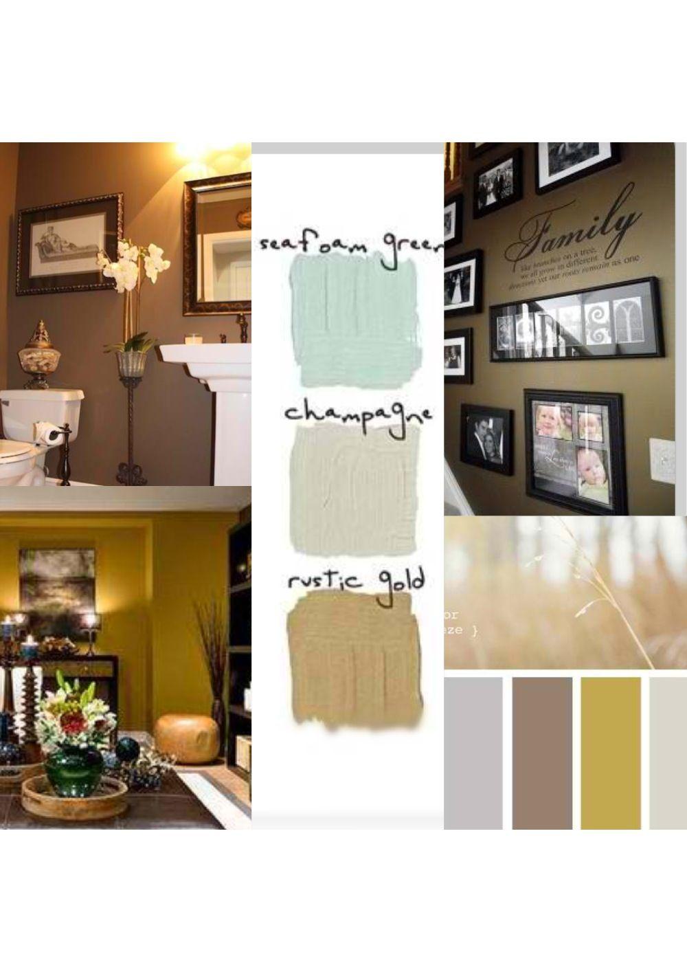 Mustard color scheme.. Living room and home colors | Mi Casa ...
