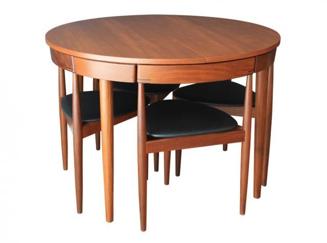 This Mid Century Dining Table Was Designed By Hans Olsen And