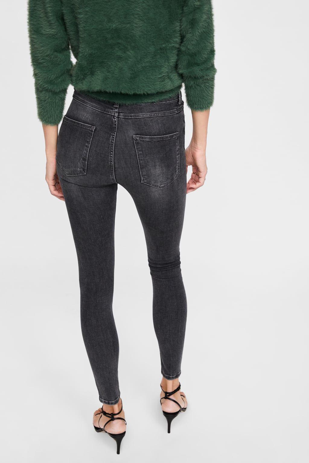 40d8f655 Jeans zw premium high waist skinny powder grey   wishlist.   Skinny ...