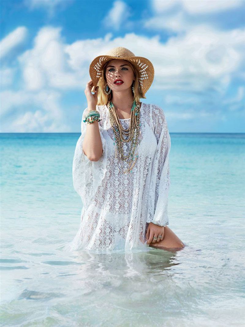 51a252b00a4 Kate Upton Hits the Beach for Accessorize Spring 2013 Campaign