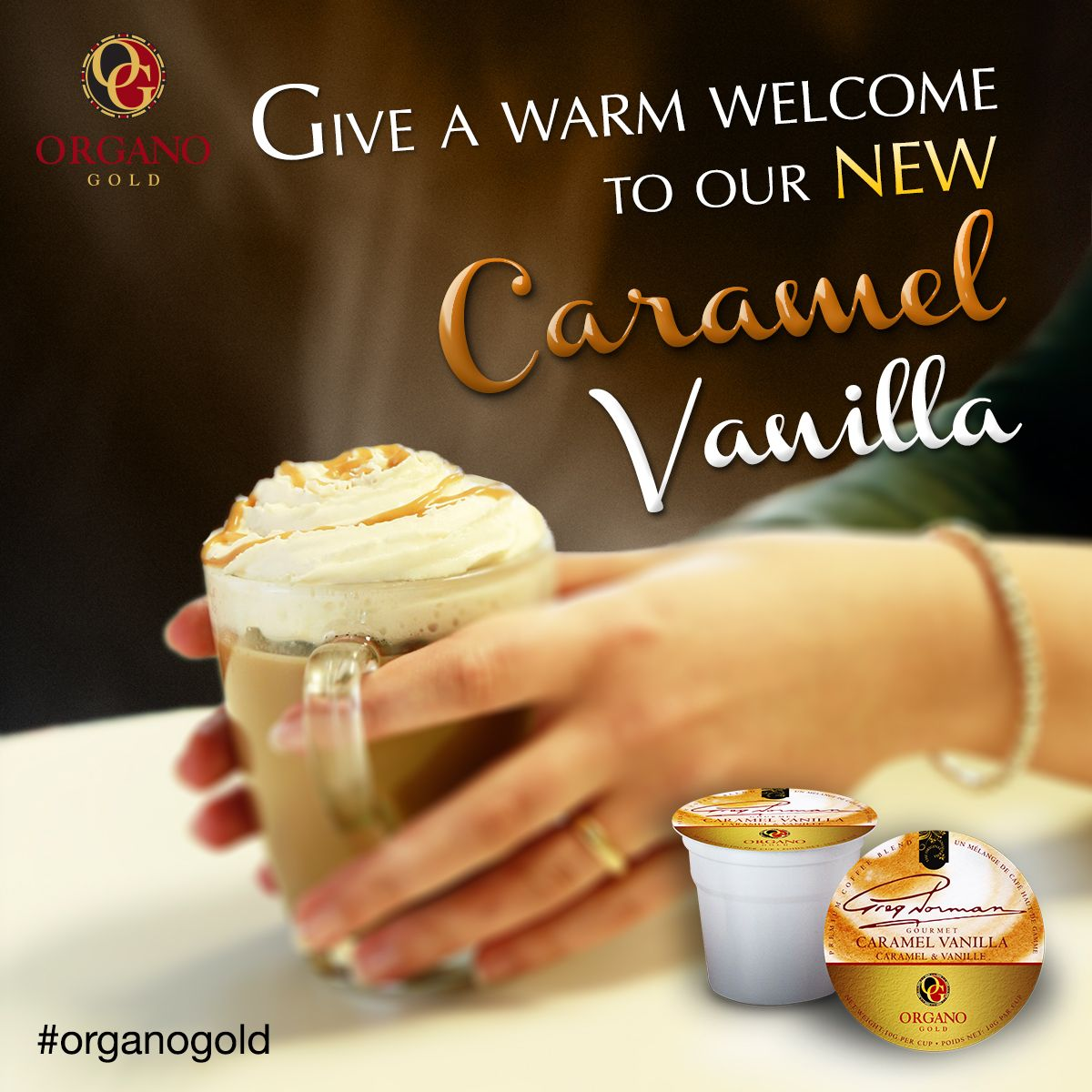 Be Among The First To Try Out Our New Caramel Vanilla Brewkup Flavor When You