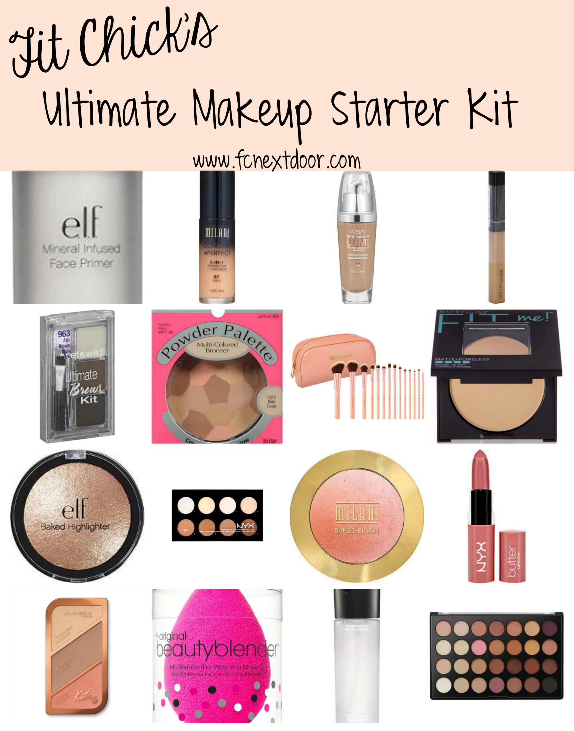 The Ultimate Makeup Starter Kit Makeup starter kit